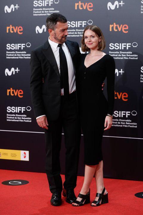 alfombra roja festival de cine de san sebastian 2021