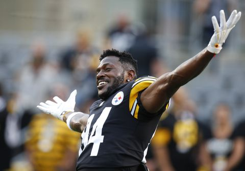 baa500860 Pittsburgh Steelers' Antonio Brown Reveals His Workout Routine