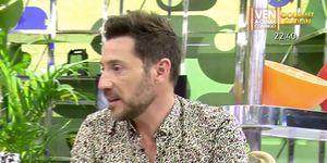 Antonio David Flores, enfadado con Ana María Aldón.