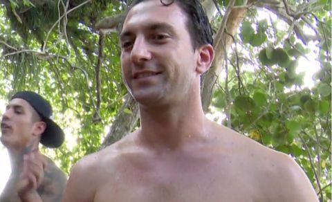 Antonio Pavón en Supervivientes