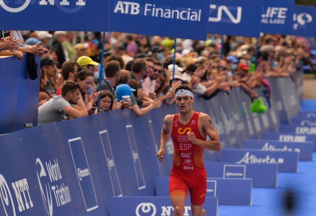 antonio serrat seoane, 8º del mundo en triatlón