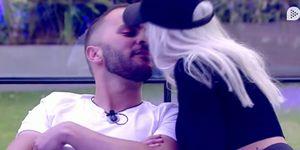 Antonio Tejado e Ylenia se comen a besos en la última fiesta de 'GH Dúo'