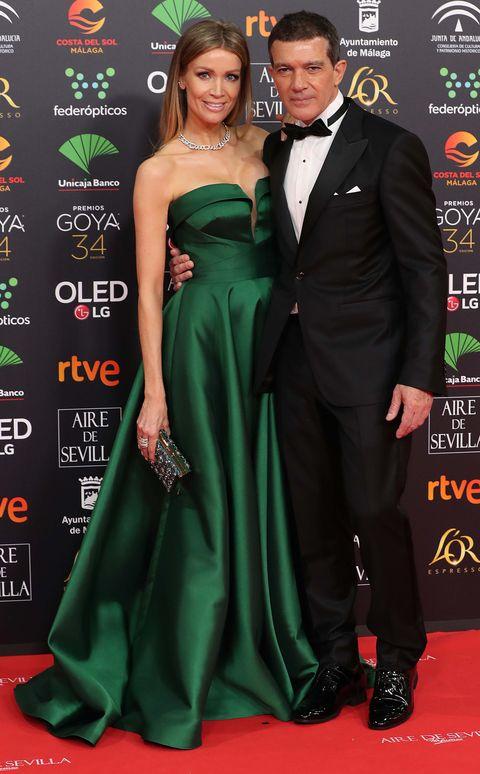 Antonio Banderas y Nicole KimpelALFOMBRA PREMIOS GOYA 2020