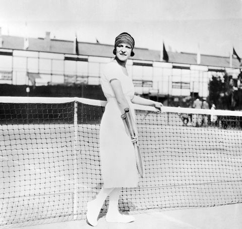 French Tennis Star Suzanne Lenglen