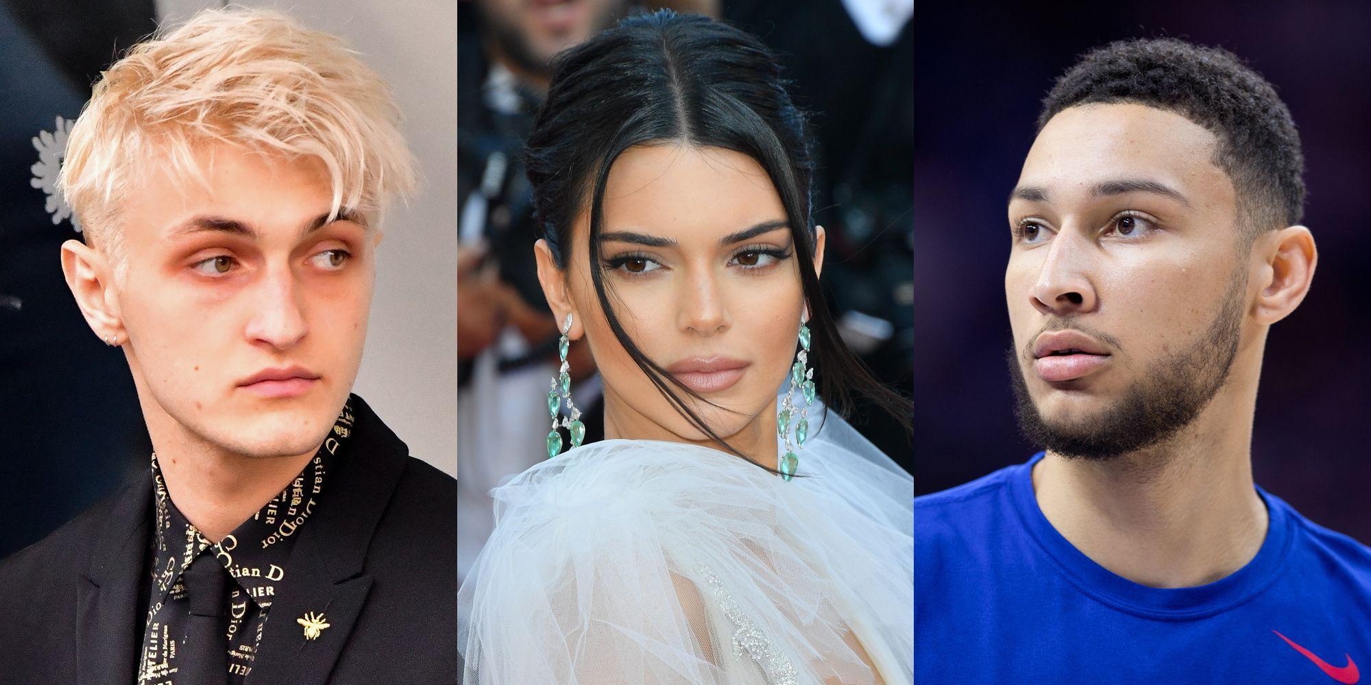 Anwar Hadid, Kendall Jenner, and Ben Simmons
