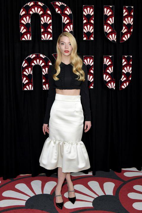 miu miu  photocall   paris fashion week womenswear fallwinter 20202021