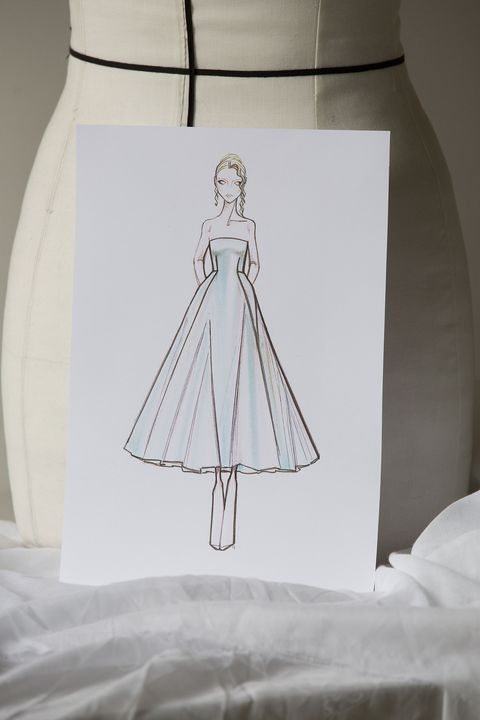 the making of anya taylor joy's second dior dress
