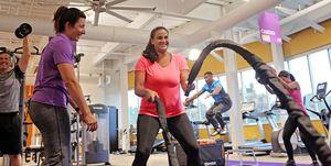 Entrenamiento Anytime Fitness