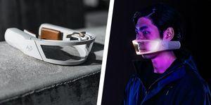 ウィルス対策,    資源を無駄にしない,    お洒落,    マスク おしゃれ メンズ,    繰り返し使えるマスク 効果,    AO Air,Face Mask