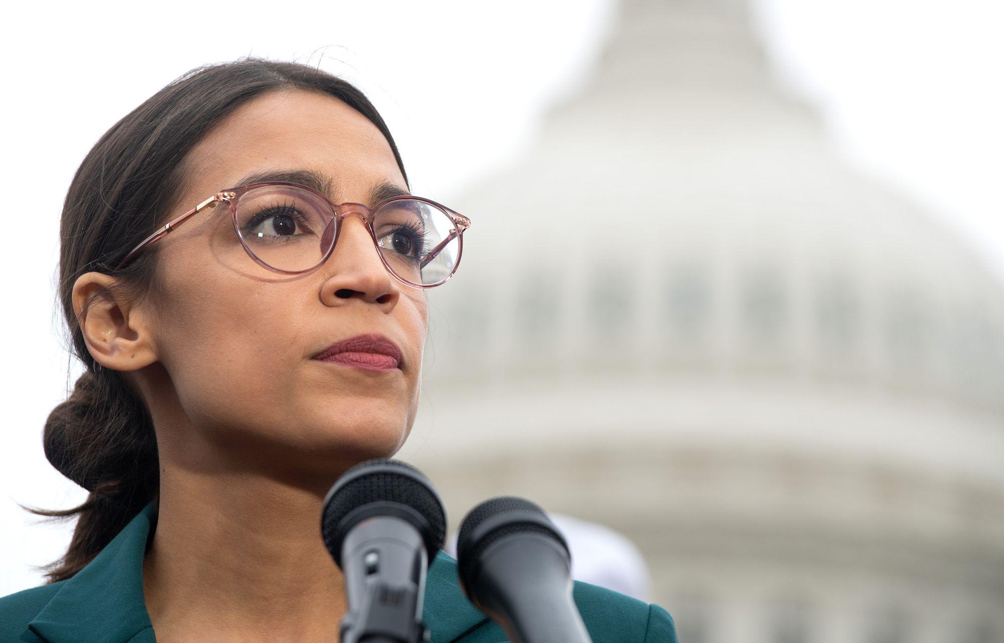 Alexandria Ocasio-Cortez Plays the 'Bad Guy' to Illuminate the Relentless Corruption in American Politics