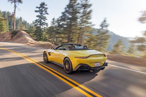 check out the new aston martin vantage roadster