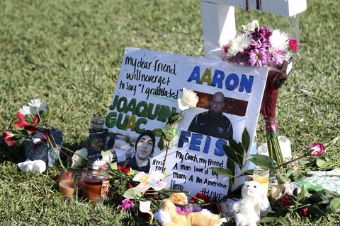 Aaron Feis remembered after Florida school shooting