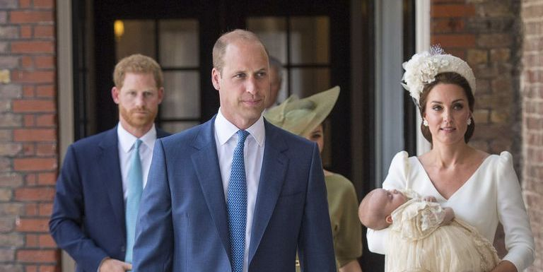 Prince Louis's christening