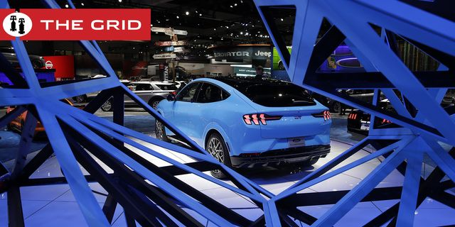 the 2021 ford mustang mach e electric suv is shown at the automobility la auto show thursday, nov 21, 2019, in los angeles ap photomarcio jose sanchez