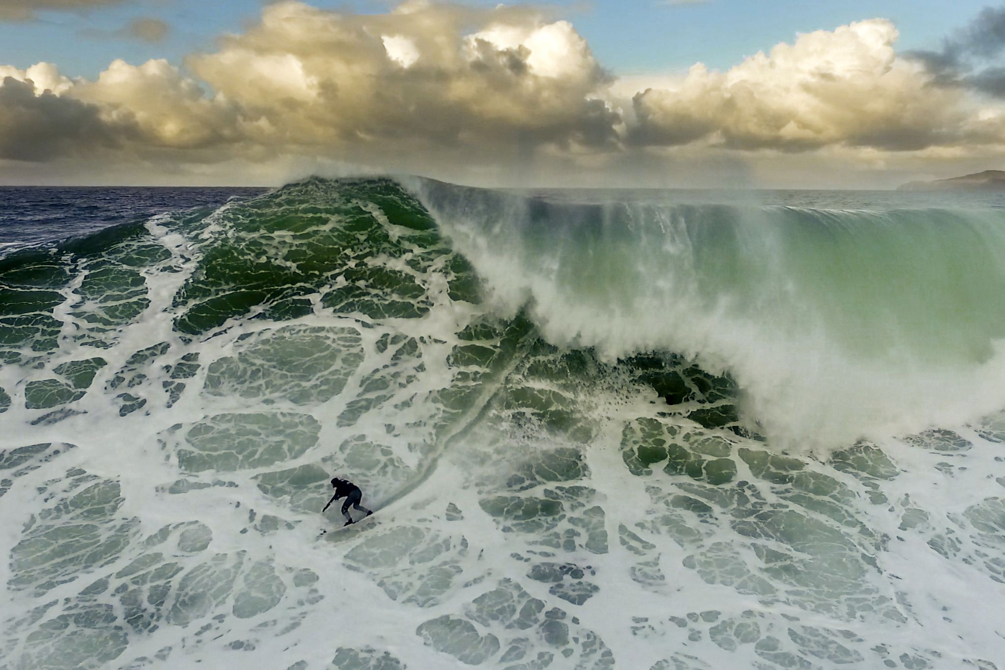 "Deadliest Catch: Learning to ""Big Wave"" Surf in Nazaré, Portugal"