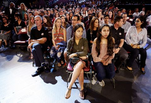 People, Audience, Crowd, Fashion, Event, Sitting, Performance, Runway, Fashion show, Model,