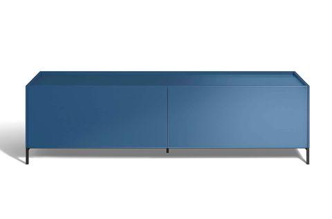 Salones: muebles en tendencia. Aparador azul