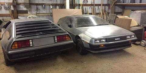 delorean dmc 12 granero