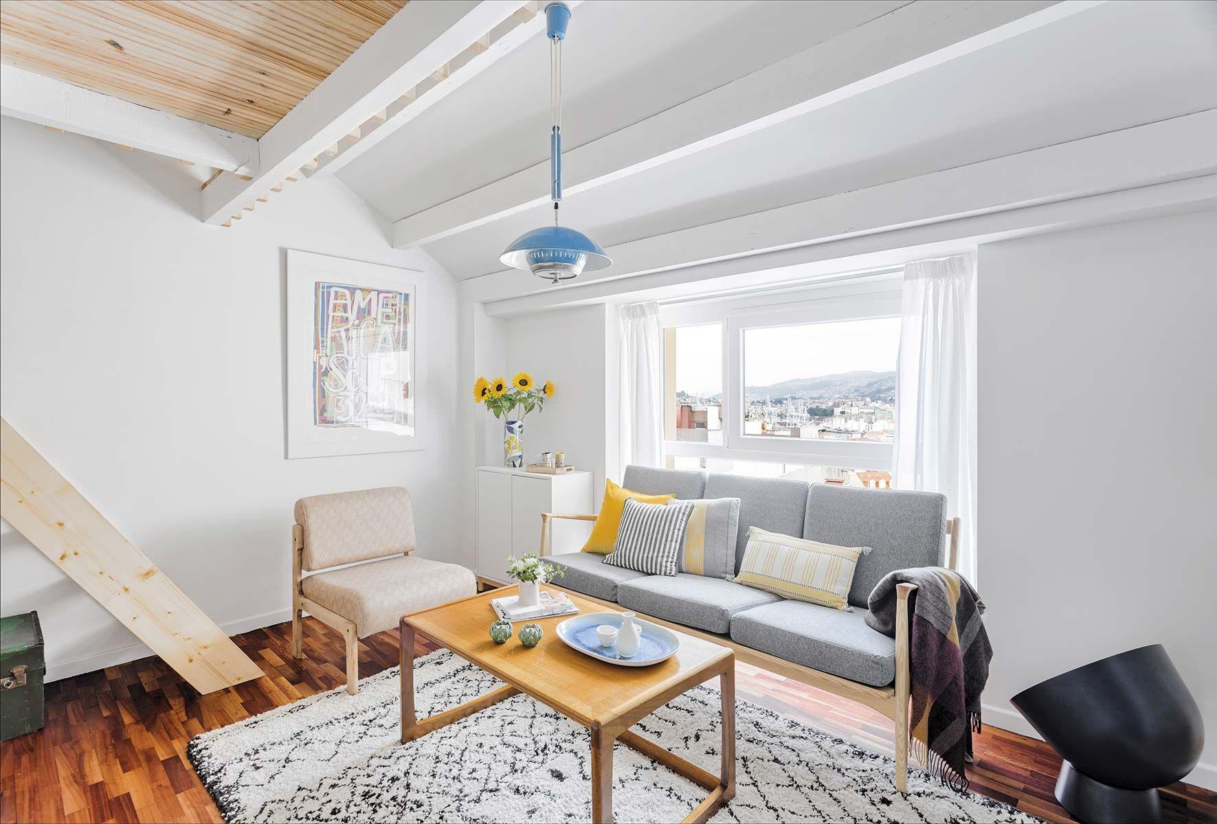 Apartamento pequeño: Zona de estar
