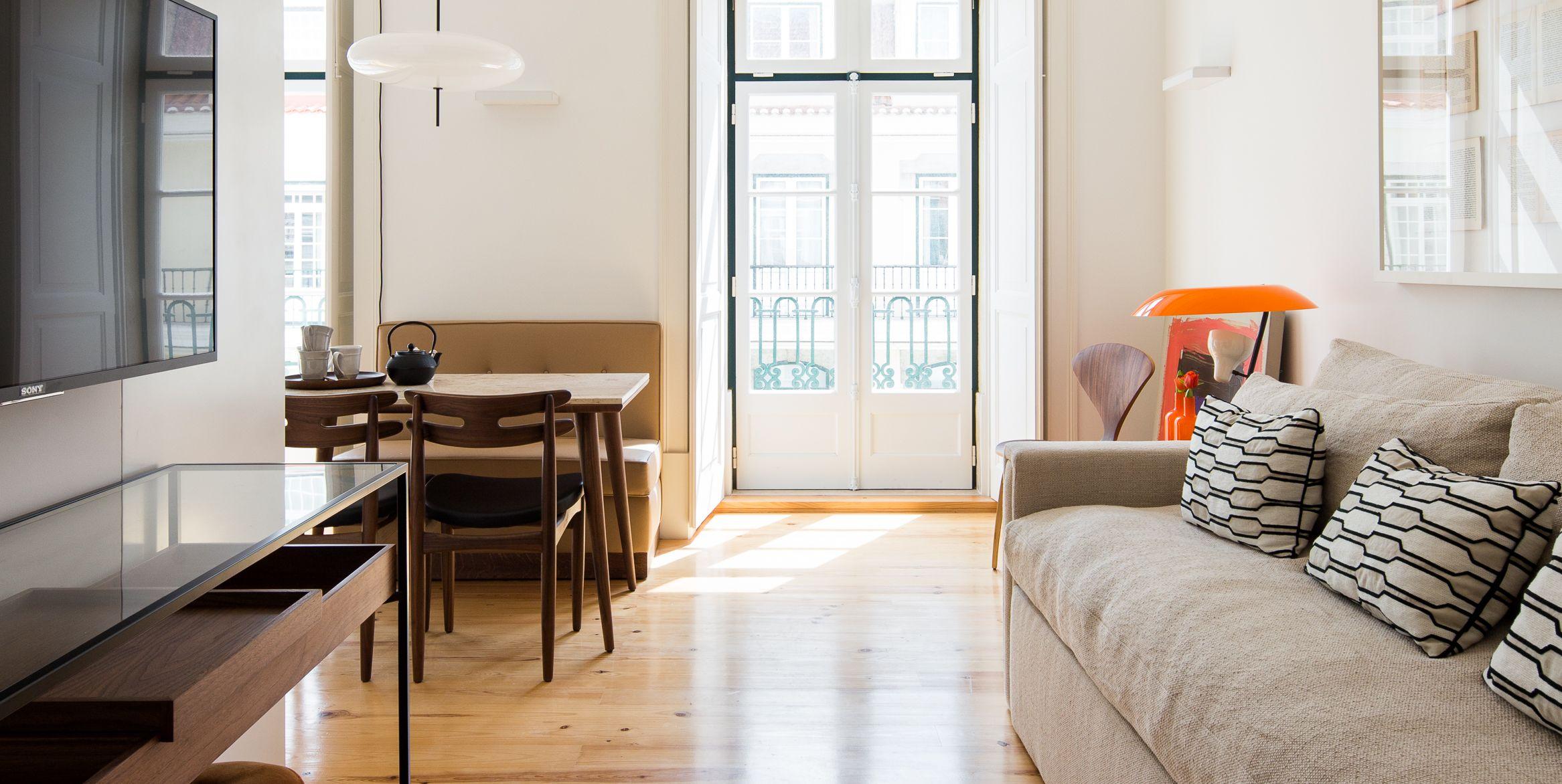 Apartamento con espacios abiertos en Liboa