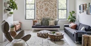 Apartamento decorado con estilo bohemio y colorido en Brooklyn