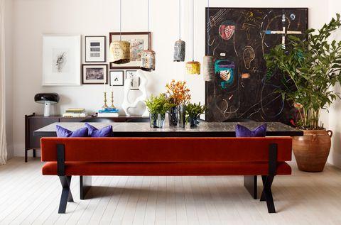Apartamento con mucho arte de Studio Ashby