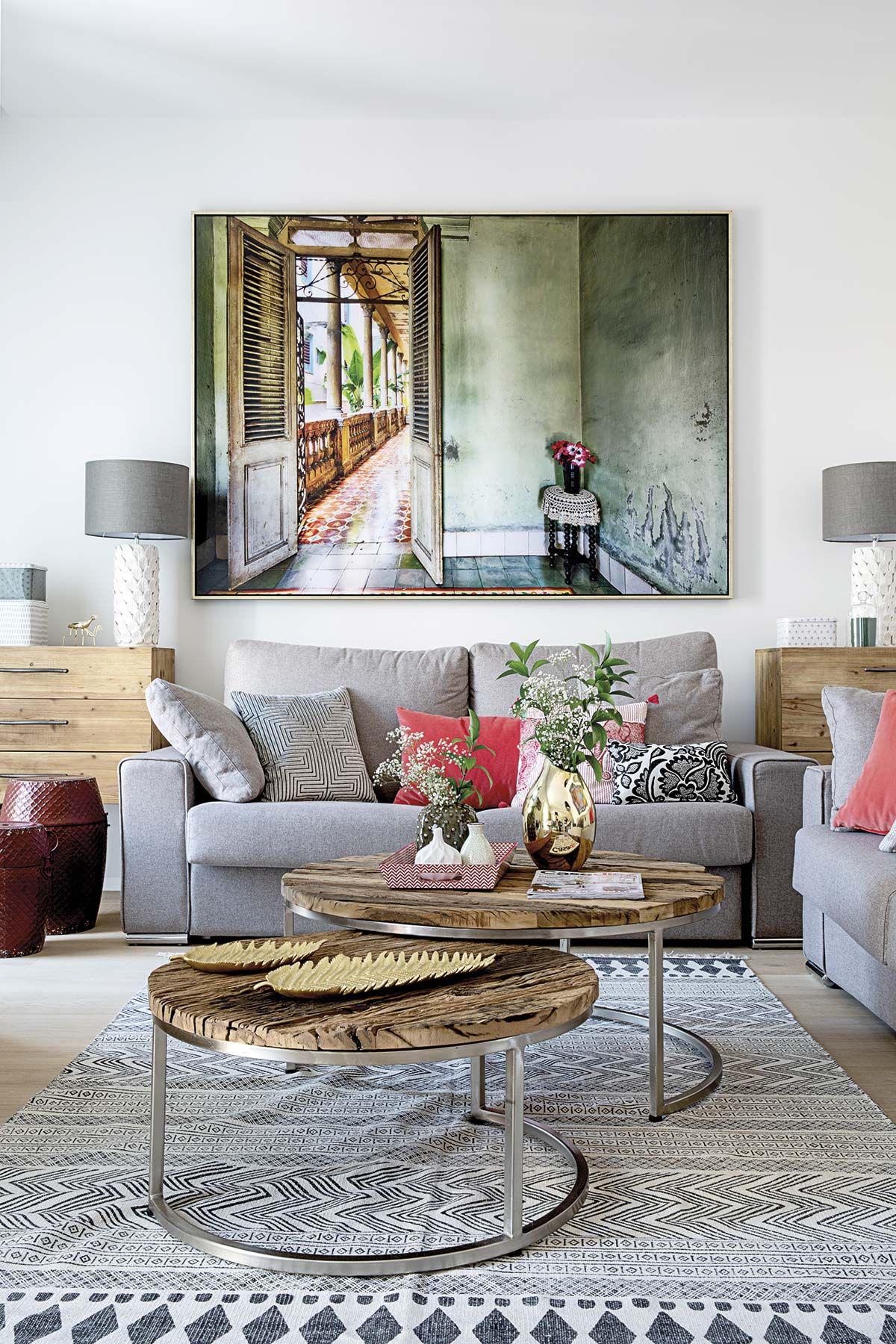 Apartamento en Madrid: salón