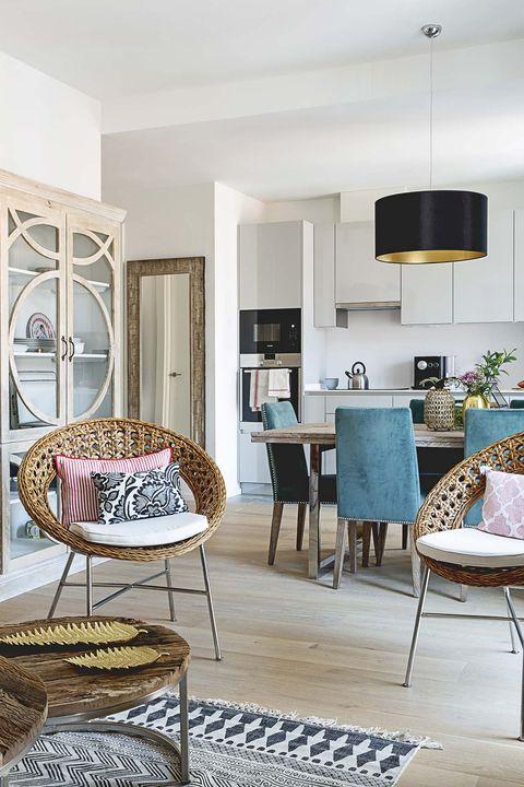Apartamento en Madrid: salón comedor cocina