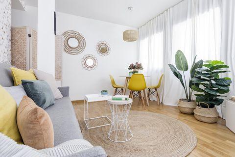 Apartamento reformado y decorado por Luis Aguilar y Paula Balboa