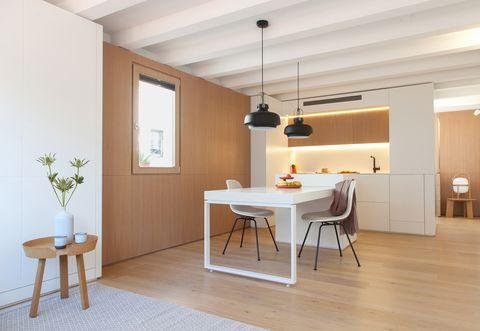Apartamento reformado en el barrio de Gracia
