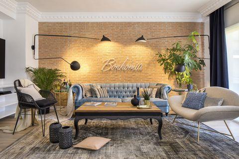 Apartamento decorado por Aida Carrillo en Granada