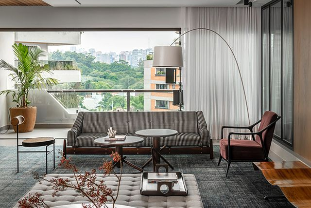 un apartamento en sao paolo elegante y luminoso