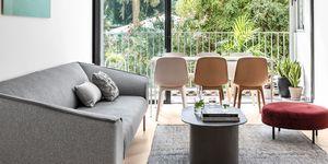 Apartamento familiar de estilo contemporáneo y escandinavo