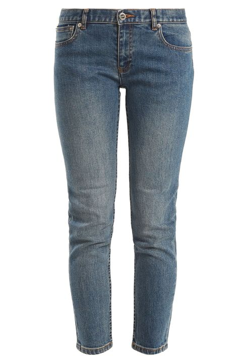 Low-rise jeans
