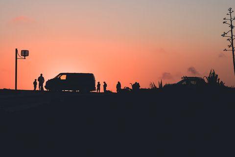 mejores atardeceres en españa en autocaravana y furgoneta camper