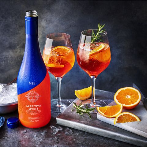ms aperitivo spritz cocktaill in a can