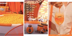 This Aperol Spritz festival has an orange waterfall and a ball pit