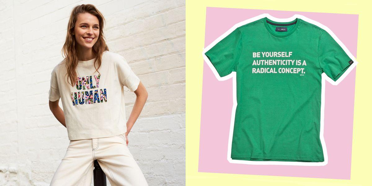 760620b127b10c Moda primavera estate 2019, le t-shirt nuove con i loghi