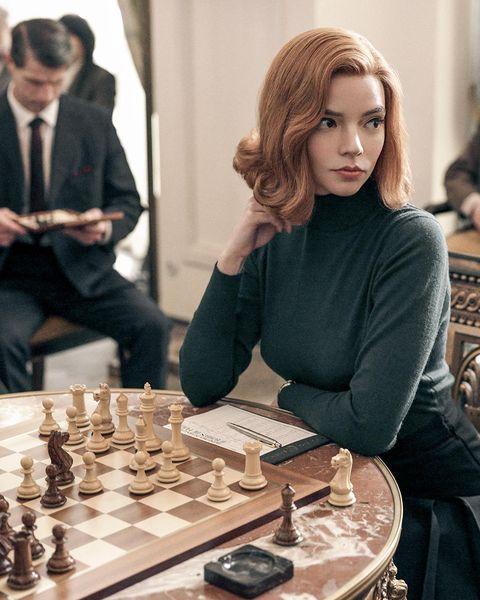 protagonista de la serie gambito de dama