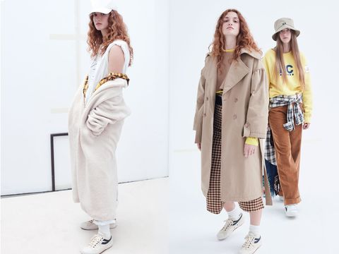 Clothing, Fashion, Shoulder, Fashion model, Outerwear, Joint, Waist, Trousers, Neck, Street fashion,
