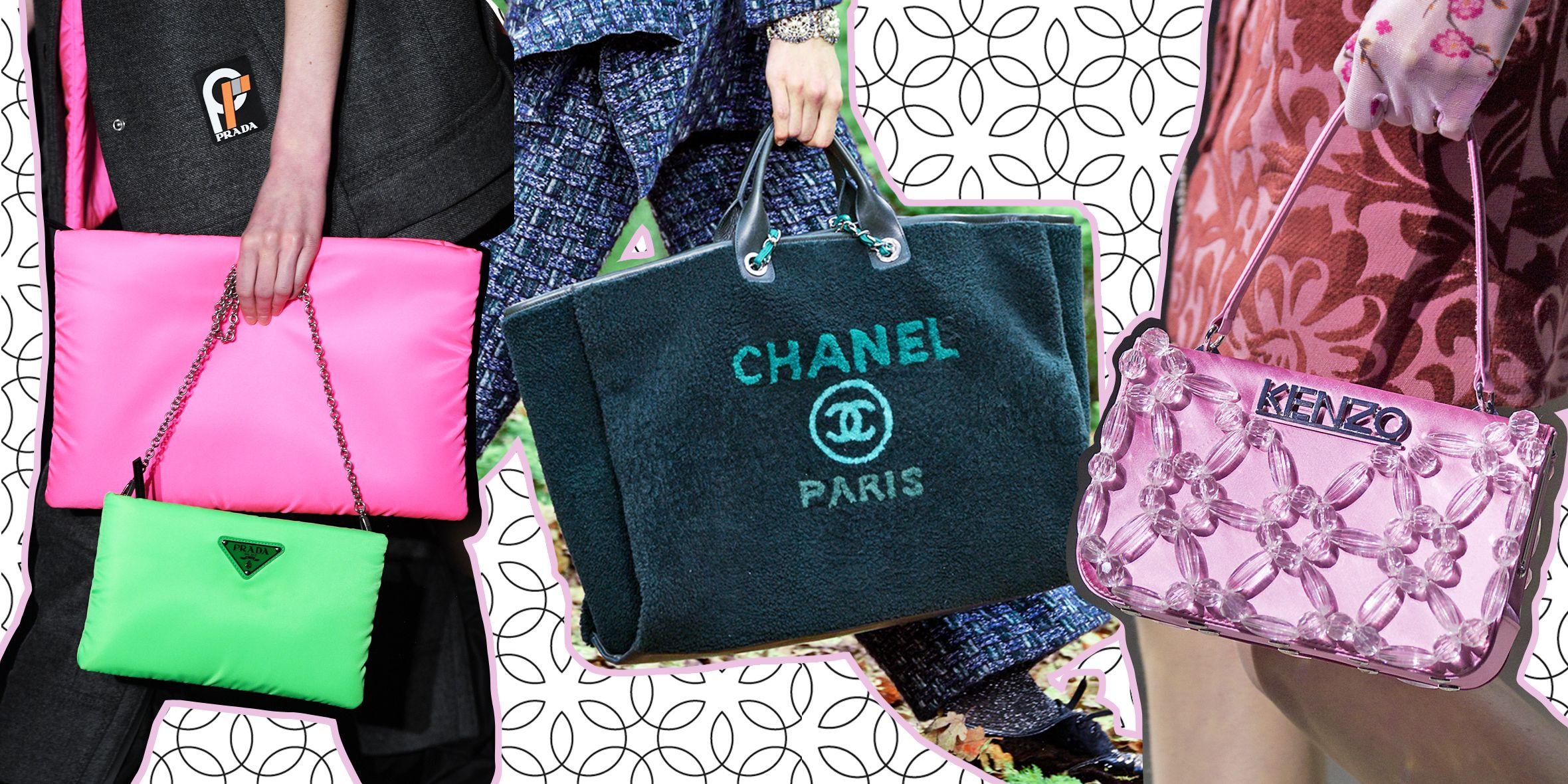 f81f8a4b1e ... moda autunno inverno 2018 2019. Le borse di marca migliorano  l\u0027outfit perché gli accessori firmati fanno la differenza, ...