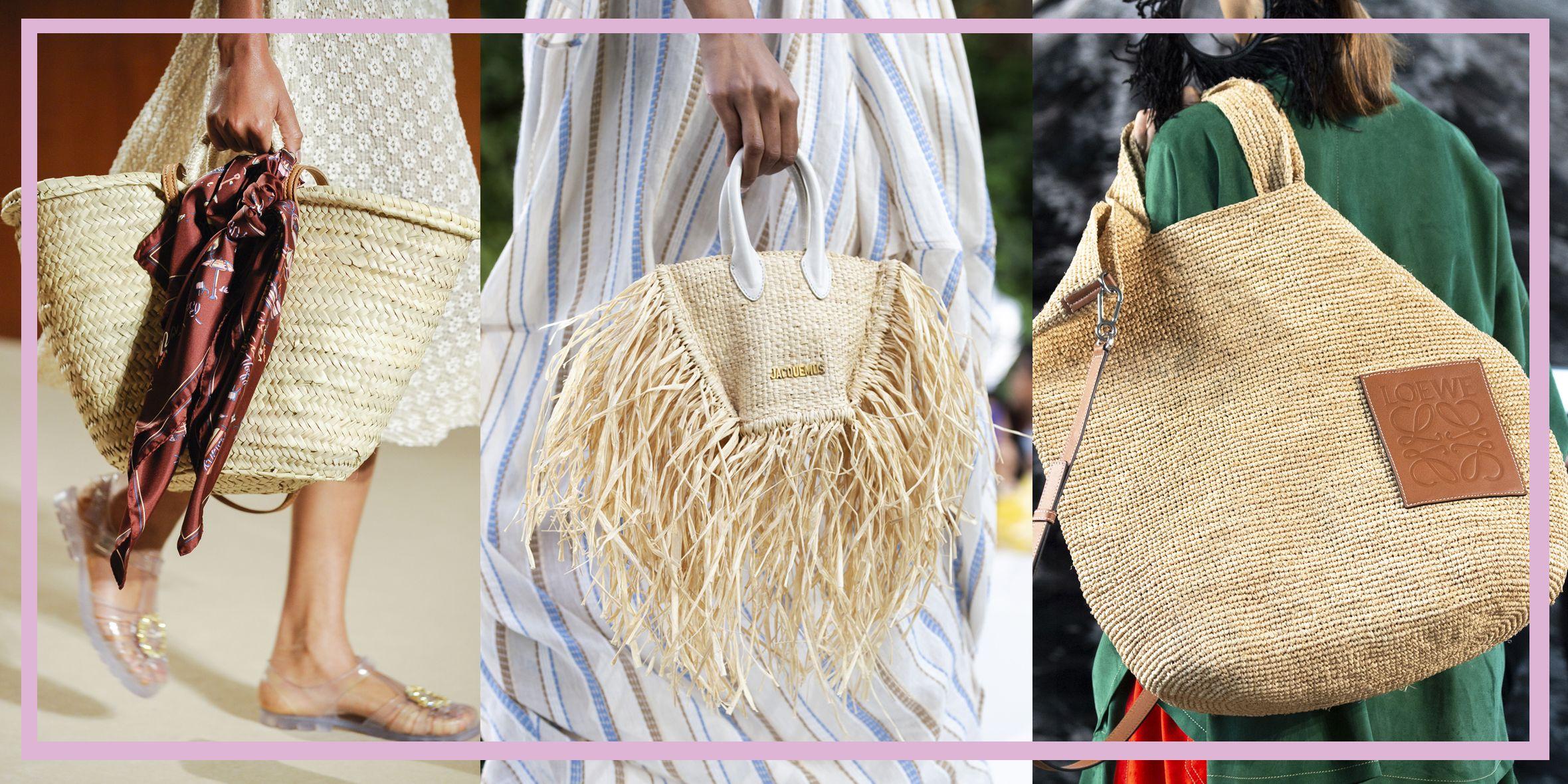 Queste borse di paglia sono tutto quello che ti serve per l'estate 2019 e le abbini con ogni outfit da giorno e da sera per un effetto super glam.