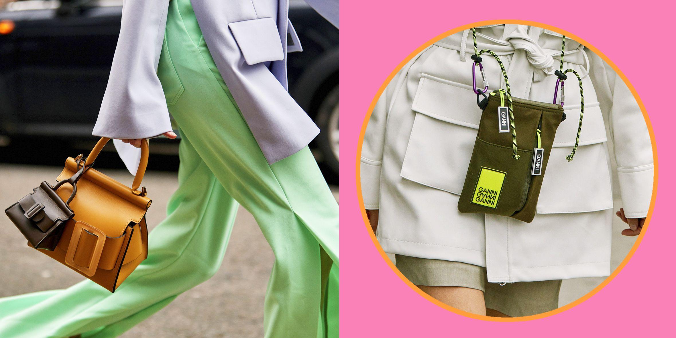Con le borse moda 2019 inauguri la primavera estate con outfit alla moda easy e cool, dalle borse a tracolla total white, al marsupio in pelle ultra femminile e le buste piatte da indossare come collane.