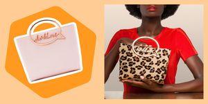 Borse moda mon amour, la stagione che precede San Valentino 2019 vede la designer inglese Sophia Webster impegnata nel lancio di una nuova chicca, la borsa a mano Hold Me con manico a fumetto.