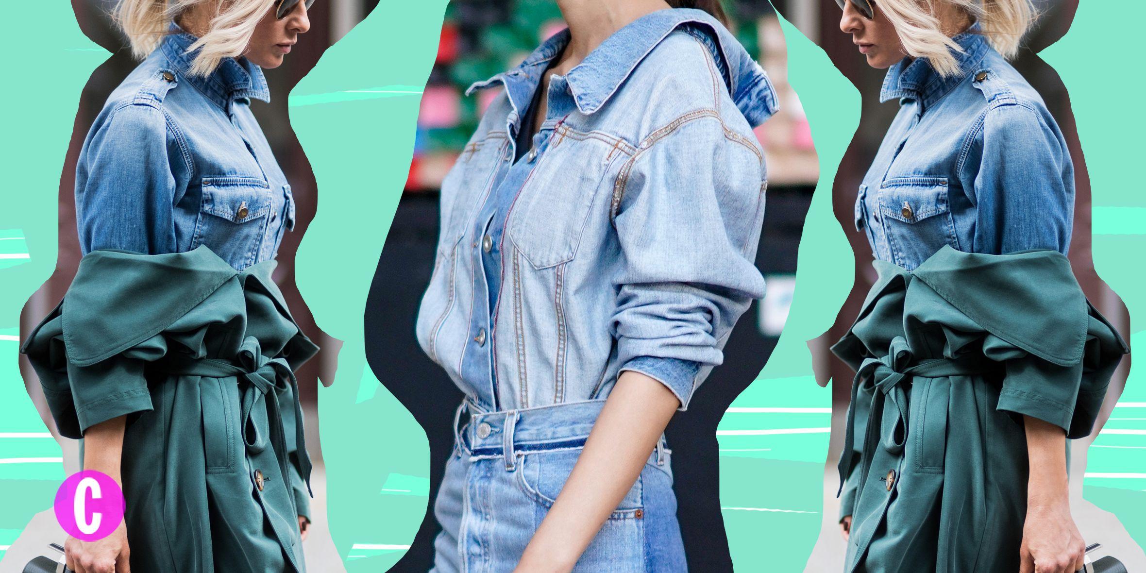 outfit con una camicia di jeans larga da donna? | ask.fm