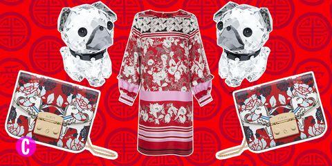 buy popular 54179 fe1bd La moda si ispira Capodanno Cinese 2018 e allanimale protagonista, il cane