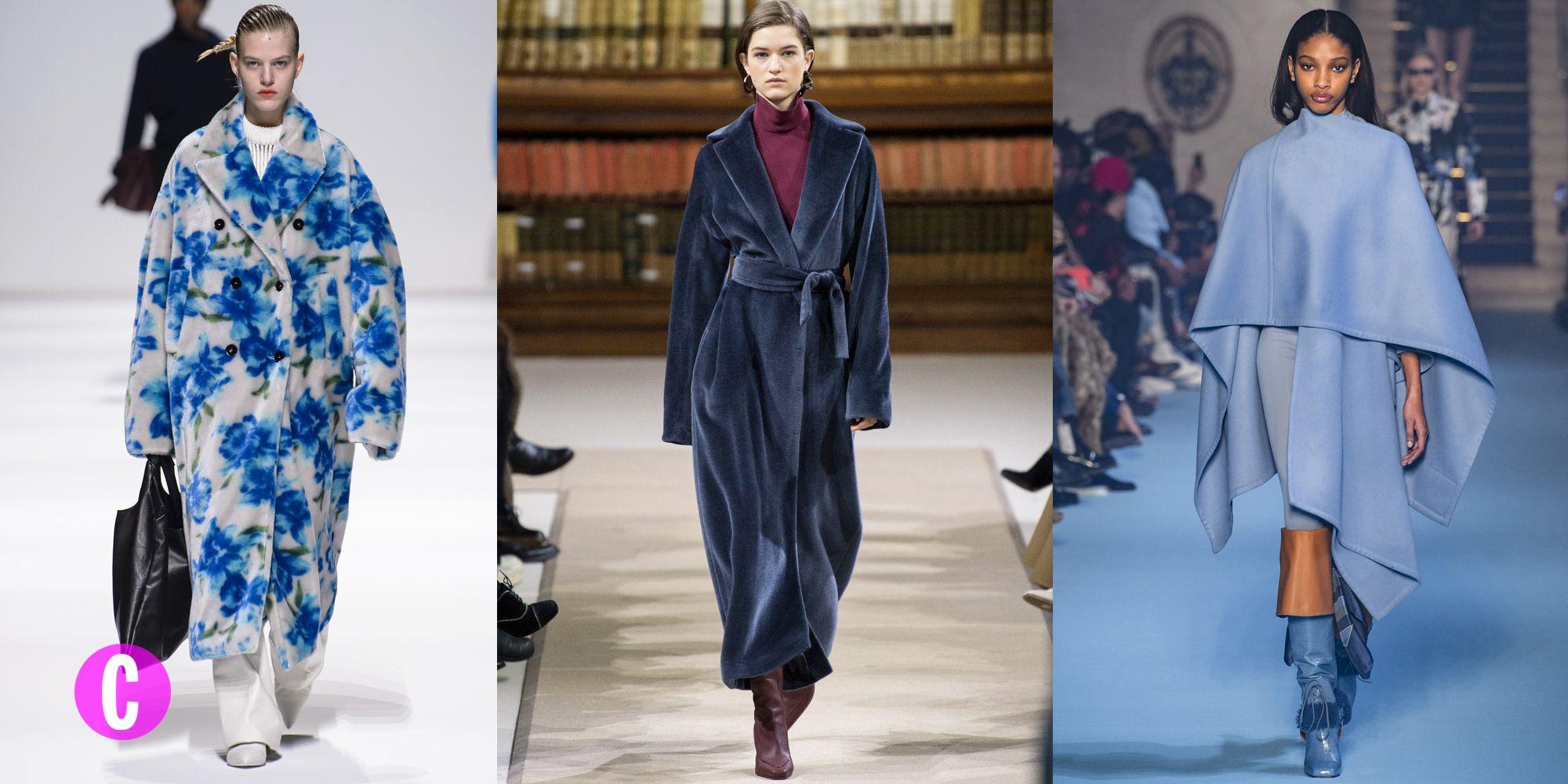 Il cappotto per le donne è il capospalla moda autunno inverno 2018,2019  ancora