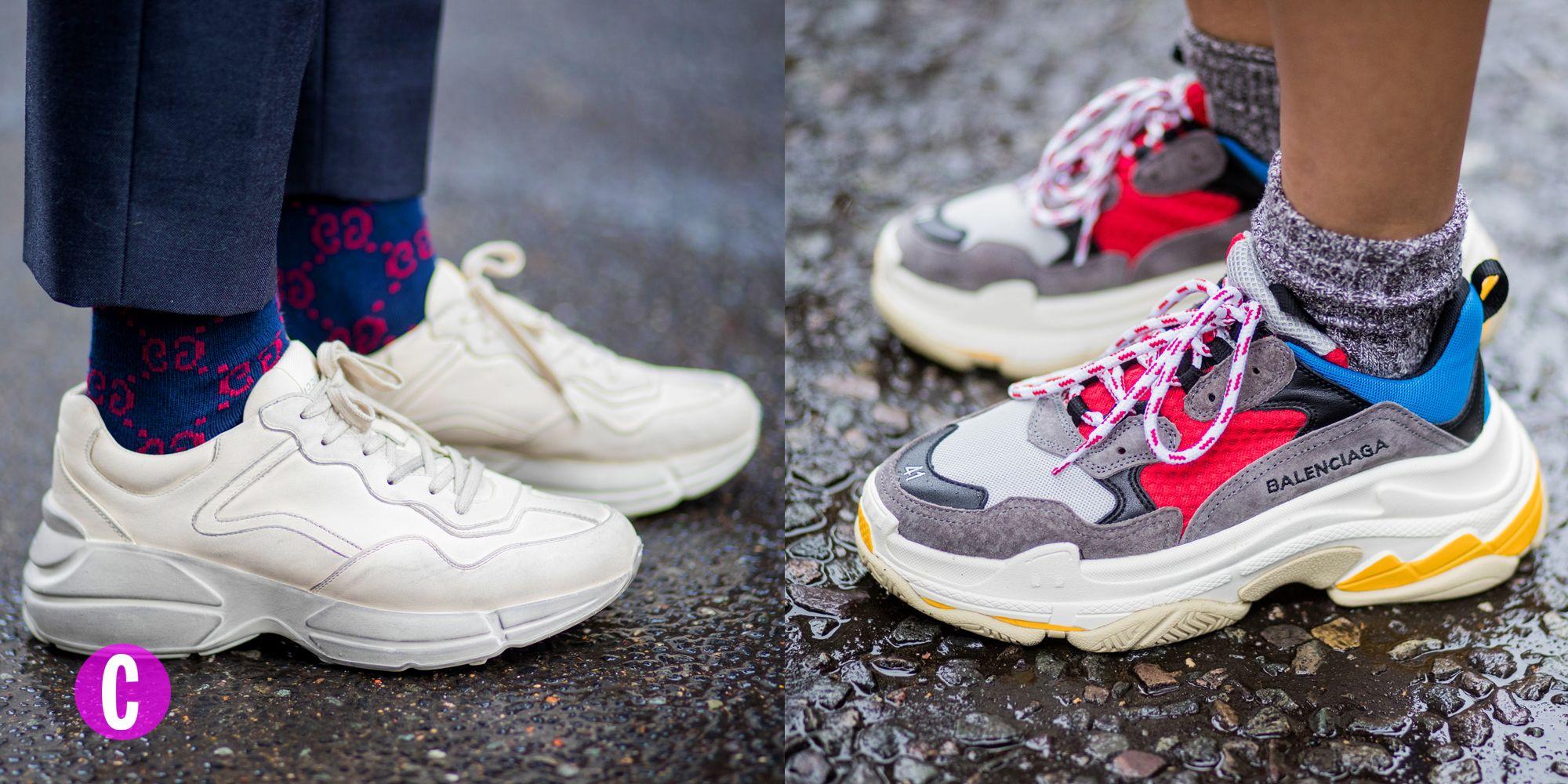 Non aspettare il colpo di fulmine, le chunky sneakers le compri adesso e le indossi anche in primavera.