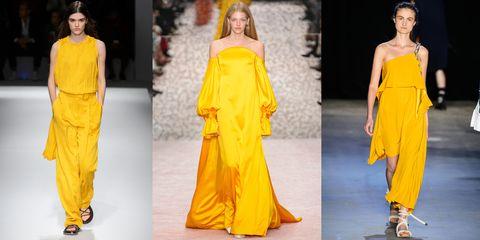 Moda primavera estate 2019  il giallo è il colore da amare fbe380f0fbe