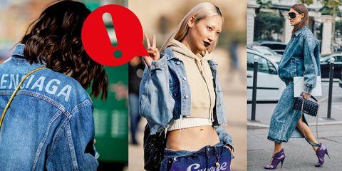 c6199cd0b0115 La giacca di jeans è la protagonista indiscussa della moda primavera estate  2019 e gli outfit